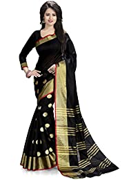 Venisa Cotton Saree (Rp1003_Black)