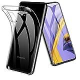 TOPACE Hülle für Samsung Galaxy A51, [Anti-Gelb] Ultra Slim weiche Silikon Klar TPU Stoßfest Handyhülle mit Mikrodot-Muster und Display-Kameraschutz Samsung Galaxy A51 Case Cover (Transparent)