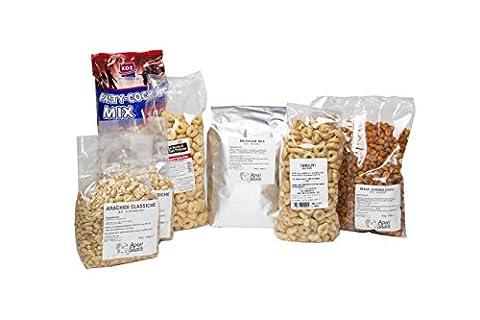 aperisnack®–MIX03–Mix Aperitif Model 3°–Quantity 1Box Mixed By 8,700Gr. Chilli Mix Mexicano, Maize, Bar Cocktail, Peanuts Salted, tarallino Chilli, tarallino Aperitif Rustic Classic, Pretzels, Pretzels, Taralli of Puglia, Taralli Neapolitans, Mix Aperitif Party Nibbles for Aperitif, Aperitif Blend for Party, Peanut, Peanut apertitivo, Rice Dolce And Chilli, Blend for Parties and Birthdays Party Nibbles for, offer Mix