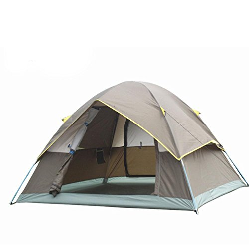 DD Outdoor-Ausrüstung, Multi-Person-Doppelschicht Tragbare Ultra-Leichte Zelte , , 3-4,, 3-4 3x3 Wachsen Zelt Komplett