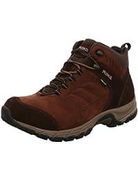 Meindl 3949 46 - Zapatillas de senderismo de Piel para hombre, color Marrón, talla 41,5 EU / 7,5 UK