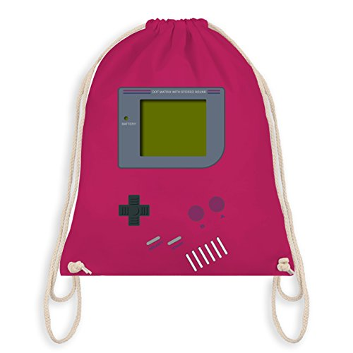 Nerds & Geeks - Gameboy - Unisize - Fuchsia - WM110 - Turnbeutel & Gym ()