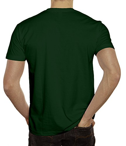 Saint Patrick's Day Herren T-Shirt St. Patricks Day Dunkelgrün