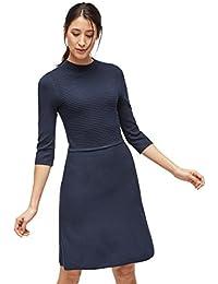 TOM TAILOR Dress Kleid im Strick-Mix