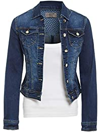 0e18a215785 SS7 Womens Size 14 16 18 20 Stretch Denim Jacket Ladies Indigo Jean Jackets  Blue