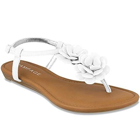 Rampage , Sandales pour femme - blanc - blanc,