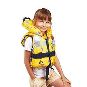 41Ki4Bz5kCL. SS300  - Plastimo 58853 ISO Lifejacket Typhoon Baby - Child Range Yellow Igloo