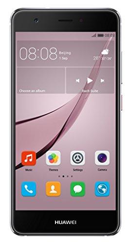 Huawei Nova 4G Gris - Smartphone (12,7 cm (5'), 3 GB, 12 MP, Android, 6.0, Gris)