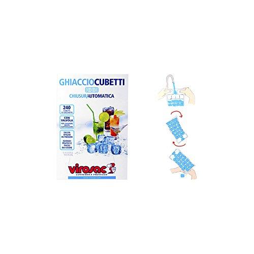 VIROSAC Confezione 10 sacchi palline ghiaccio Accessori da cucina