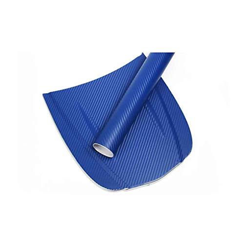 Uokoki Fibra del Carbonio 3D dell\'automobile Pellicola Adesiva Auto Wrap Sticker Sheet Rotolo Fai da Te Decalcomania della Decorazione di High Gloss Impermeabile