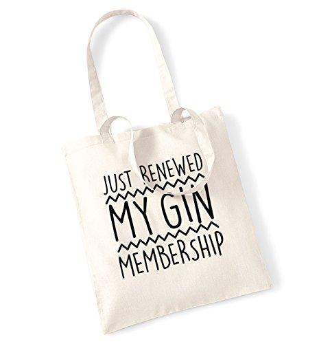 Just rinnovata my gin adesione Borsa Natural