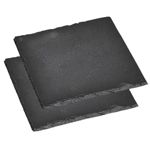 kesper-servierplatte-2er-pack-schieferplatte-buffet-platte-aus-schiefer-gelt-mae-200-x-200-mm-schwar