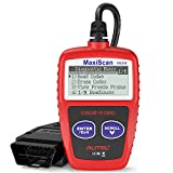 Autel MS309 OBD2 Scanner Car Fault Code Reader, Turn Off Check Engine Light