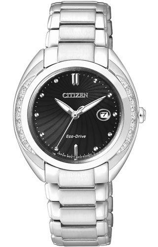 orologio solo tempo donna Citizen Eco-Drive trendy cod. EW2250-59E