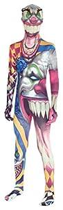 Morphsuits, Disfraz infantil Monstruo payaso, multicolor, 10 - 12 años
