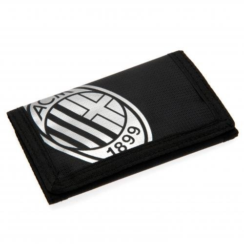 AC Milan Folie Print Brieftasche, mehrfarbig (Milan-bank)
