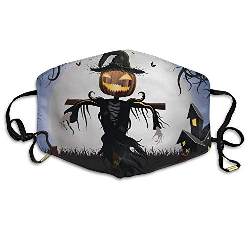 nisex Halloween Scarecrow Anti-dust Flu Masks Mouth Face Masks ()