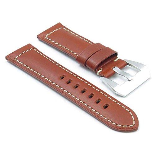 dassari-monaco-bande-pour-montre-en-cuir-lisse-rouille-pour-panerai-taille-24-22-24mm