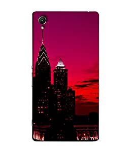 Snapdilla Designer Back Case Cover for Sony Xperia Z5 :: Sony Xperia Z5 Dual 23MP (Modern Architecture Sky Colorful )