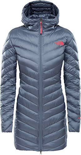 THE NORTH FACE Women's Trevail Parka, Grisaille Grey, XS