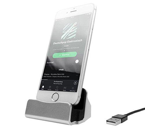HubLines® - Lade und Dockingstation für Smartphone und Handy mit USB-C Stecker USB 3.1 für Acer Liquid Jade Primo, ASUS ZenFone 3 Ultra,3 Deluxe, Google Pixel, XL, Huawei P9 Plus,Mate - Mi Handy 3-xiaomi