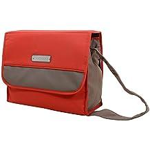Bebecar - Bolso cambiador, color rojo