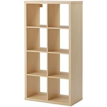 IKEA EXPEDIT Regal (8 Fächer) WEIß, 149x79x39cm: Amazon.de