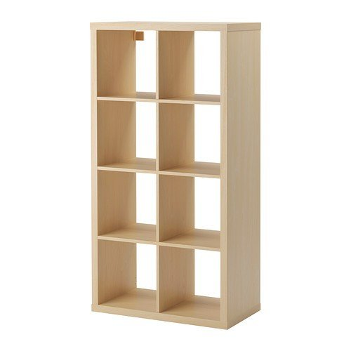 Ikea regal expedit birke  IKEA Regal Kallax das neue Expedit Regal 8 - Fach Birkenachbildung ...