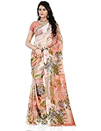 Anand Sarees Georgette Saree with Blouse Piece