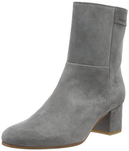 Joan Kurzschaft Stiefel, Grau (Gray G88), 38 EU (70er Jahre Stiefel Und Schuhe)