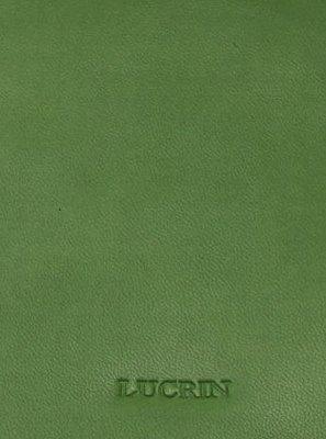 Lucrin - Quadratischer Kosmetiktuchbehälter - Weiss - Glattleder Hellgrün