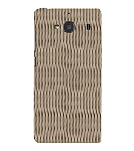 EPICCASE 3D Threads Mobile Back Case Cover For Mi Redmi 2s (Designer Case)