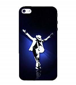 Nextgen Designer Mobile Skin for Apple iPhone SE (Dance Hip Hop Dance Love Mj Steps)