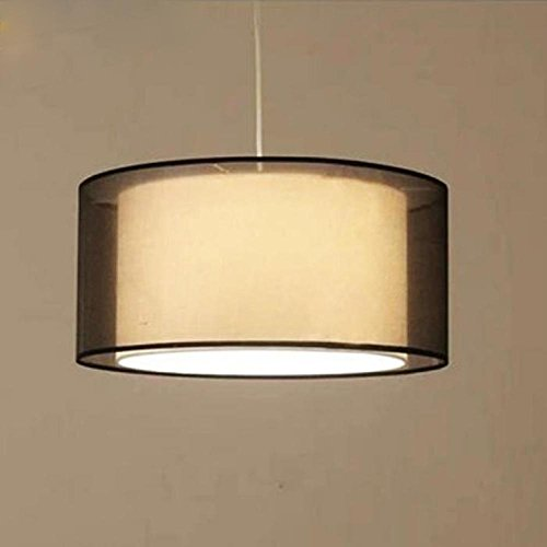KHSKX Doppio tessuto circolare lampadari antichi diameter