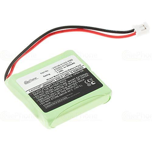 cellePhone Batterie Ni-MH Compatible avec Siemens Gigaset E40 / E45 / E450 / E455 (Remplacement pour V30145-K1310-X382)
