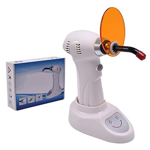 JJHZ La Lámpara De Fotopolimerización Inalámbrica LED De 1200Mw El Equipo Dental Y Las Herramientas Dentales Pueden Curar Cualquier Marca De Material De Resina para Blanquear Los Dientes