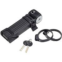 Trelock FS 300/85 Trigo ZT - Candado plegable para bicicletas negro negro Talla:19,5x 5,5 x 4 cm