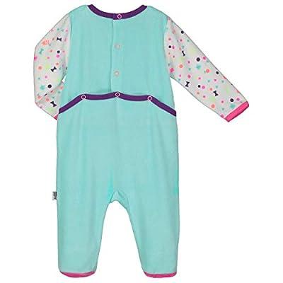 Petit Béguin-Pijama bebé terciopelo pequeña Troupe