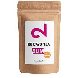 Dual 28 Days F-burner Tea | Tè Slim Per La Perdita Di Peso|Tè Detox | Tè Per La Dieta E Per Bruciare Grassi |Tè…