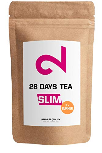DUAL 28 Days Fat-Burner Tea| Té Quemador Grasa Pérdida