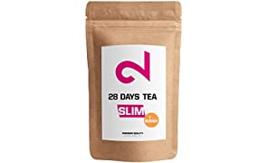 ��DUAL 28 Days Fat-Burner Tea| Té Quemador de Grasa para Pérdida de Peso | Té desintoxicante | Infusión de Dieta y Para Bajar de Peso|Té Limpiador|Suplemento Dietético Natural|Hecho en Alemania|85g