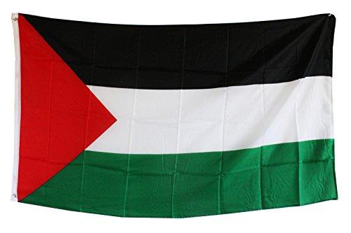 Unbekannt Fahne Flagge Palästina 0,90m x 1,50m mit Metallösen zum Aufhängen (0520810)