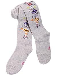 Weri Spezials. Baby und Kinderstrumpfhose. Blumen und Schmeterlingel Motiv.