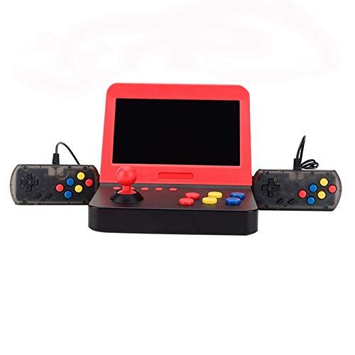 King Bomb 3000 TV Game Consola de juegos portátil dual de pantalla Grande de 7 pulgadas Compatible Con reproductor de Video MP4 Memoria de expansión de tarjeta TF de Doble ASA