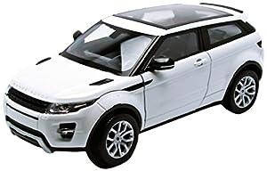 Welly 24021 White Range Rover Evoque Coupe, 1/24 Blanco