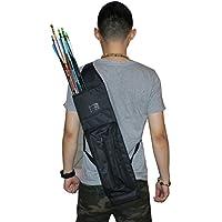 cnse flechas de tiro con arco carcaj de caza objetivo Back lienzo Quiver negro