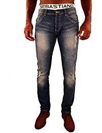 Jeansstyle usé Florian 100% coton denim pour homme