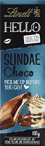 Preisvergleich Produktbild Lindt & Sprüngli Hello Sundae Choco,  3er Pack (3 x 100 g)