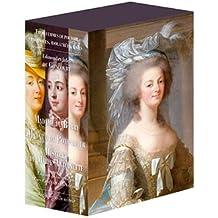 Madame de Pompadour, La du Barry, Histoire de Marie-Antoinette : Coffret 3 volumes