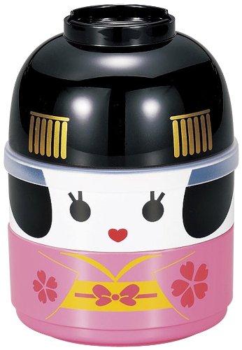 Hakoya Tierra Zen Samuraï Bento-Service, rosa, 10 x 13.0 x 13 cm